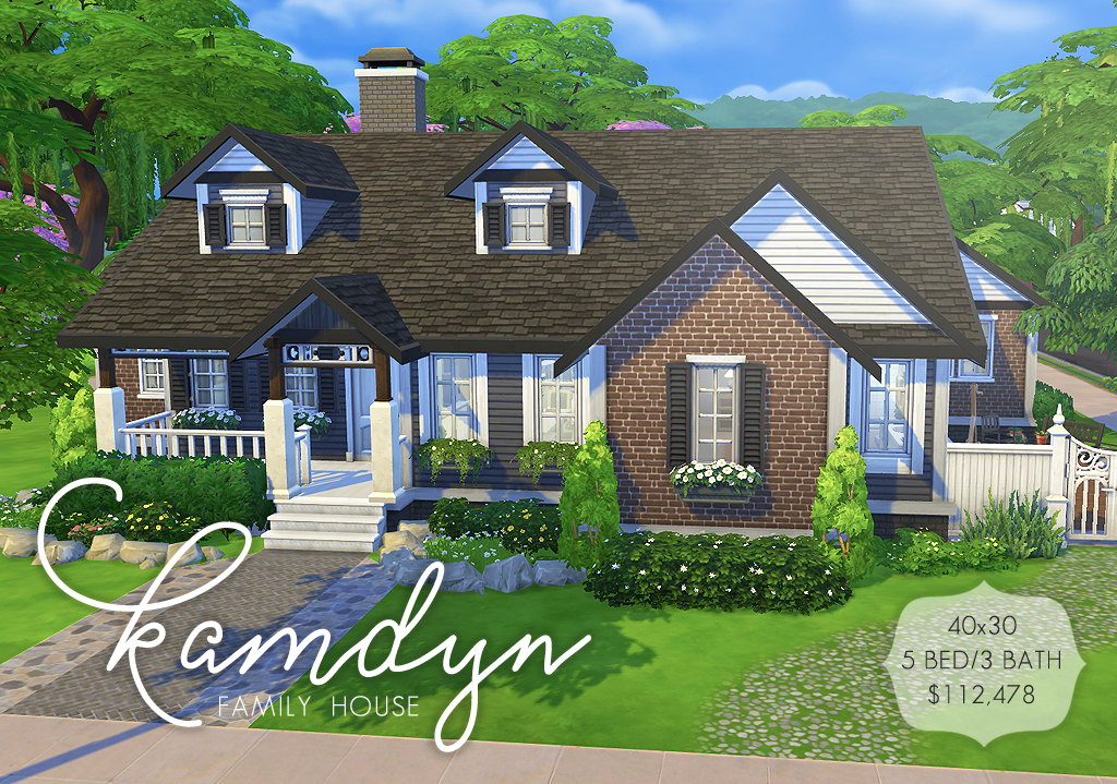 Thank You Everyone I Love You All So Much And Enjoy Seeing All Of Your Cc Content Edits And Stories I A Sims House Design Sims 4 Family House Sims Building