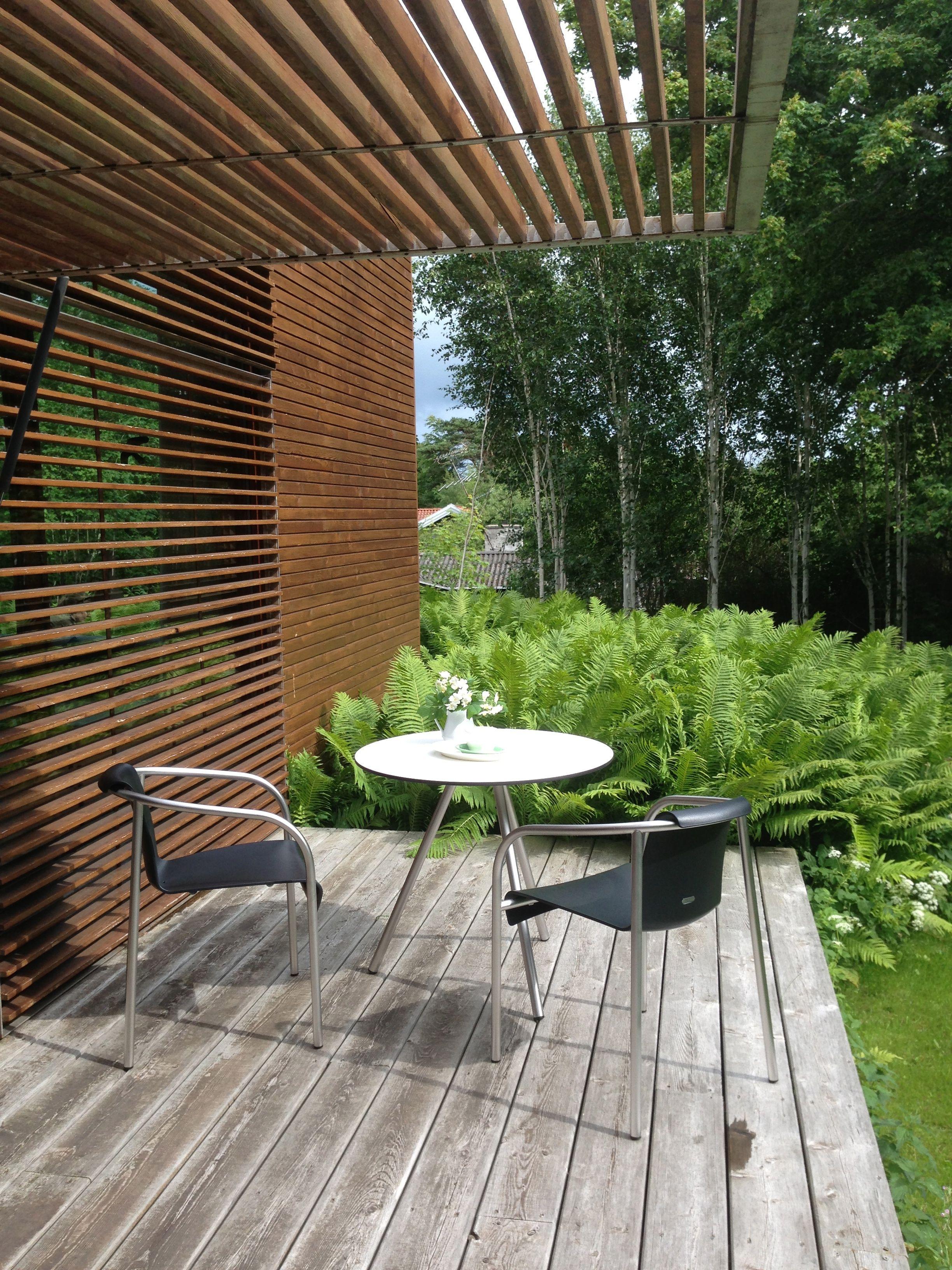 Genial Cool Deck. Furniture From Skagerak.