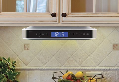 Undercabinet Bluetooth Kitchen Speaker Sharper Image Kitchen