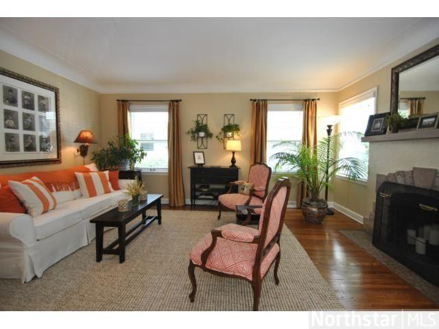 Just Listed Stunning Oak Hills Rummer Home Living Room Eichler