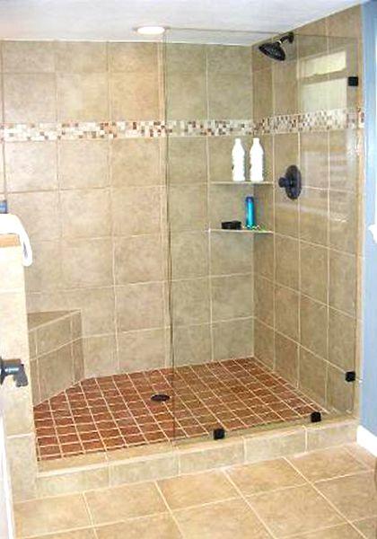 Frameless Glass Walkin Shower Frameless Glass Spray Panels Doorless Shower Shower Doors Doorless Shower Design