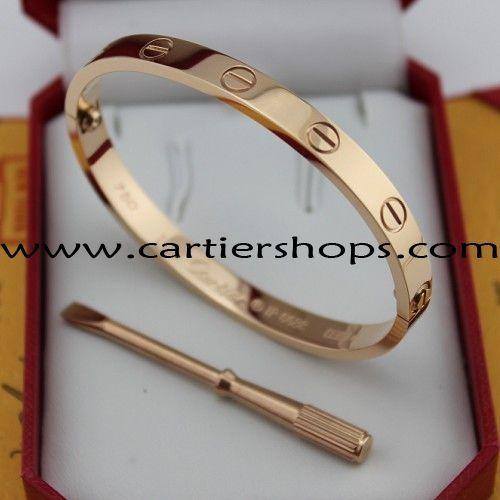 4966d52547a Cartier Love Bracelet Pink Gold B6035616 New Version 104