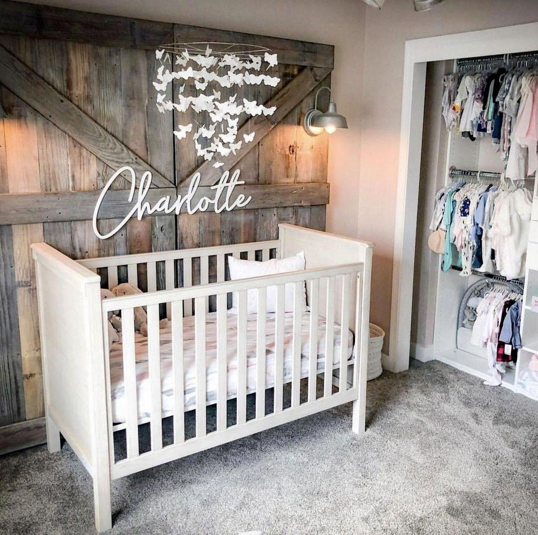17 Cute Nursery Ideas For Your Baby Girl #nurseryideas