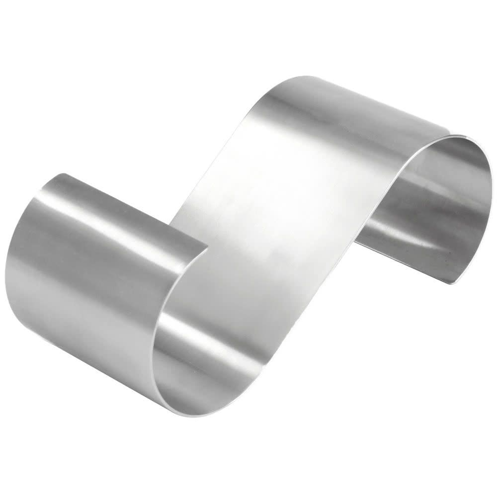 American Metalcraft Ssr10 10 X 4 X 3 1 4 Satin Stainless Steel S Shaped Riser American Metalcraft 10 Things Stainless Steel