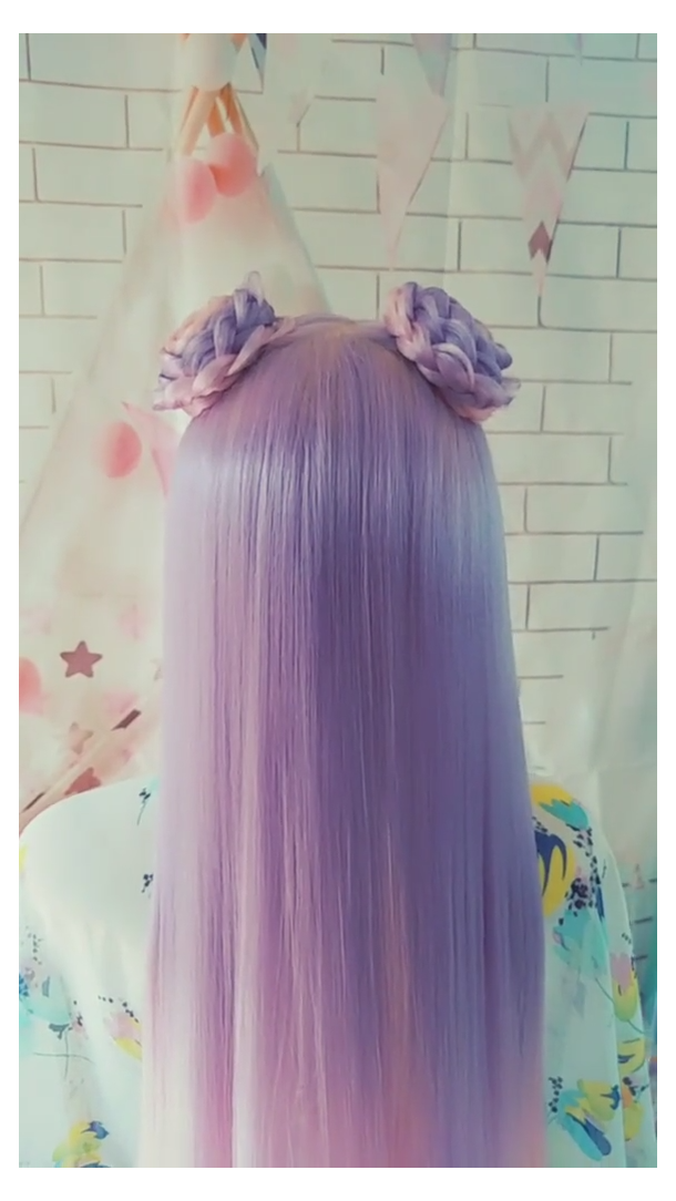 how to tie beads in hair