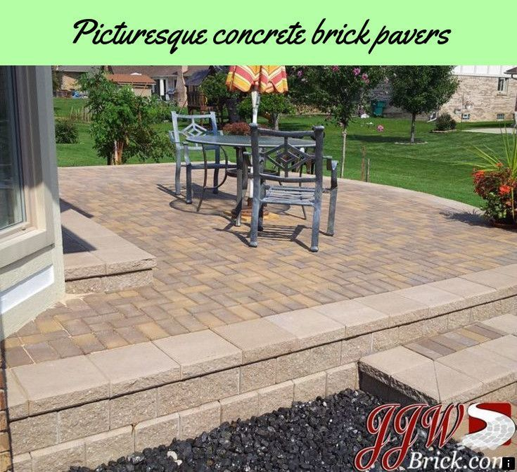 Learn About Concrete Brick Pavers Just Click On The Link For More Info The Web Presence Is Worth Checking Patio Pavers Design Brick Paver Patio Patio
