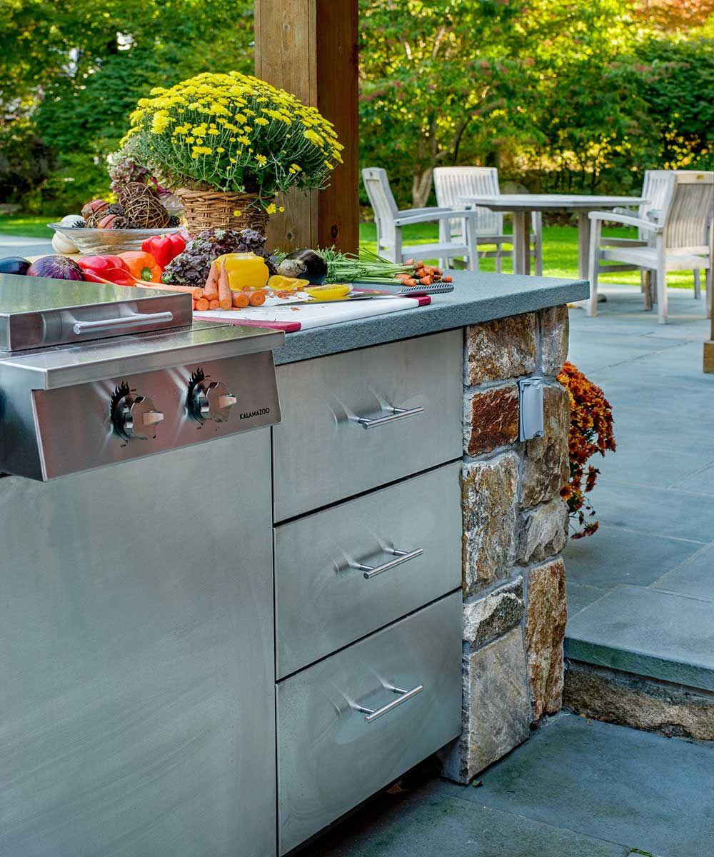Darien Connecticut Luxury Outdoor Kitchen Outdoor Kitchen Outdoor Kitchen Appliances