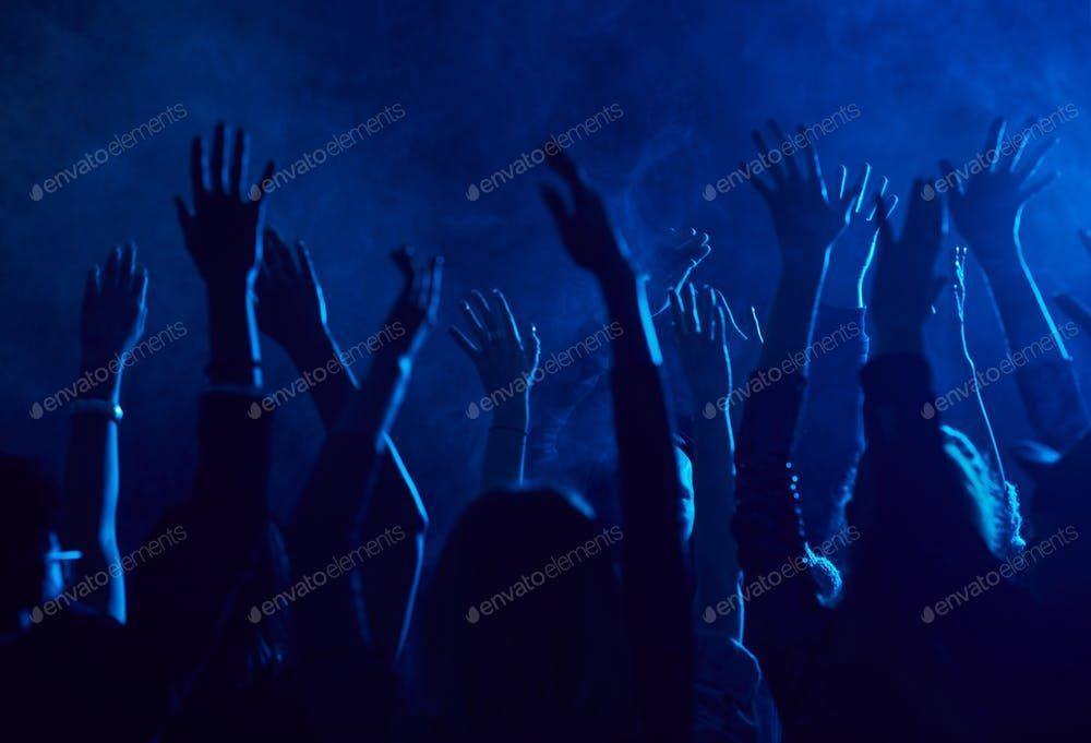 Crowd Dancing in Nightclub By seventyfourimages鈥檚 photos #Ad , #AFF, #Crowd, #Dancing, #Nightclub