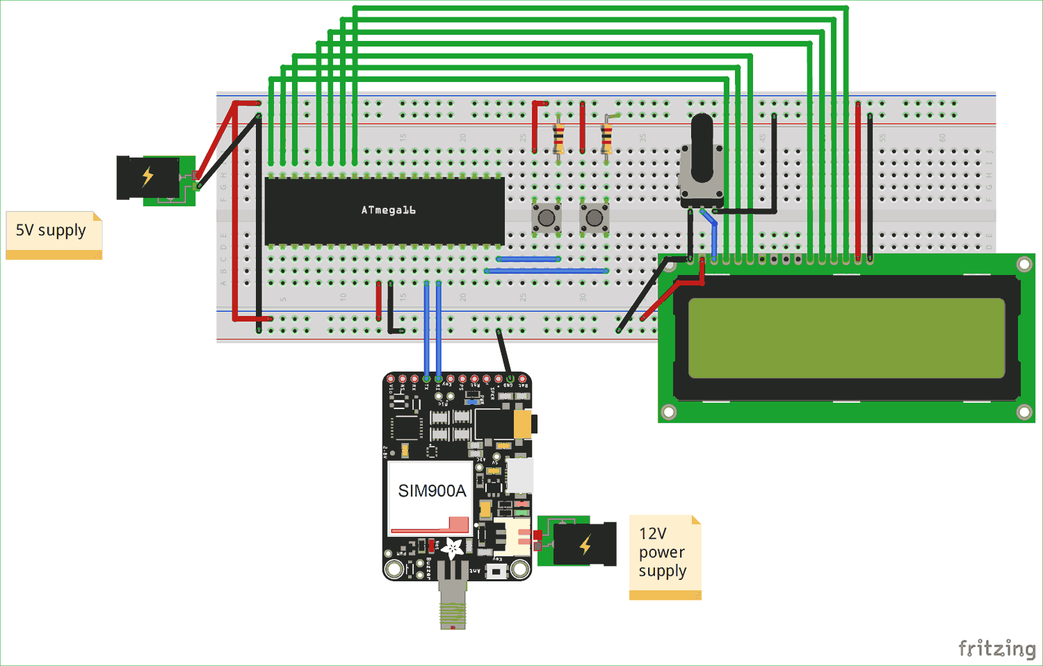 Prime Circuit Diagram For Interfacing Gsm Module With Avr Microcontroller Wiring Digital Resources Antuskbiperorg