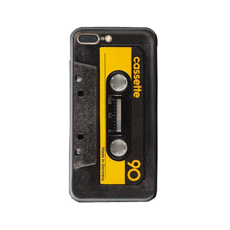 Cassette iphone case back cover hard case for iphone x 8 7