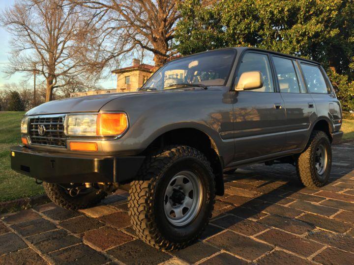 Low Spec, High Miles, Nice Mods: Sharp 1997 Toyota Land