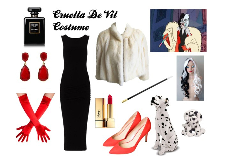 The Most Elegant Disney Villain You Need A Long Black Dress Red Gloves Red Shoes Black White Hair P Black White Hair Long Black Dress Rockabilly Fashion [ 1748 x 2480 Pixel ]