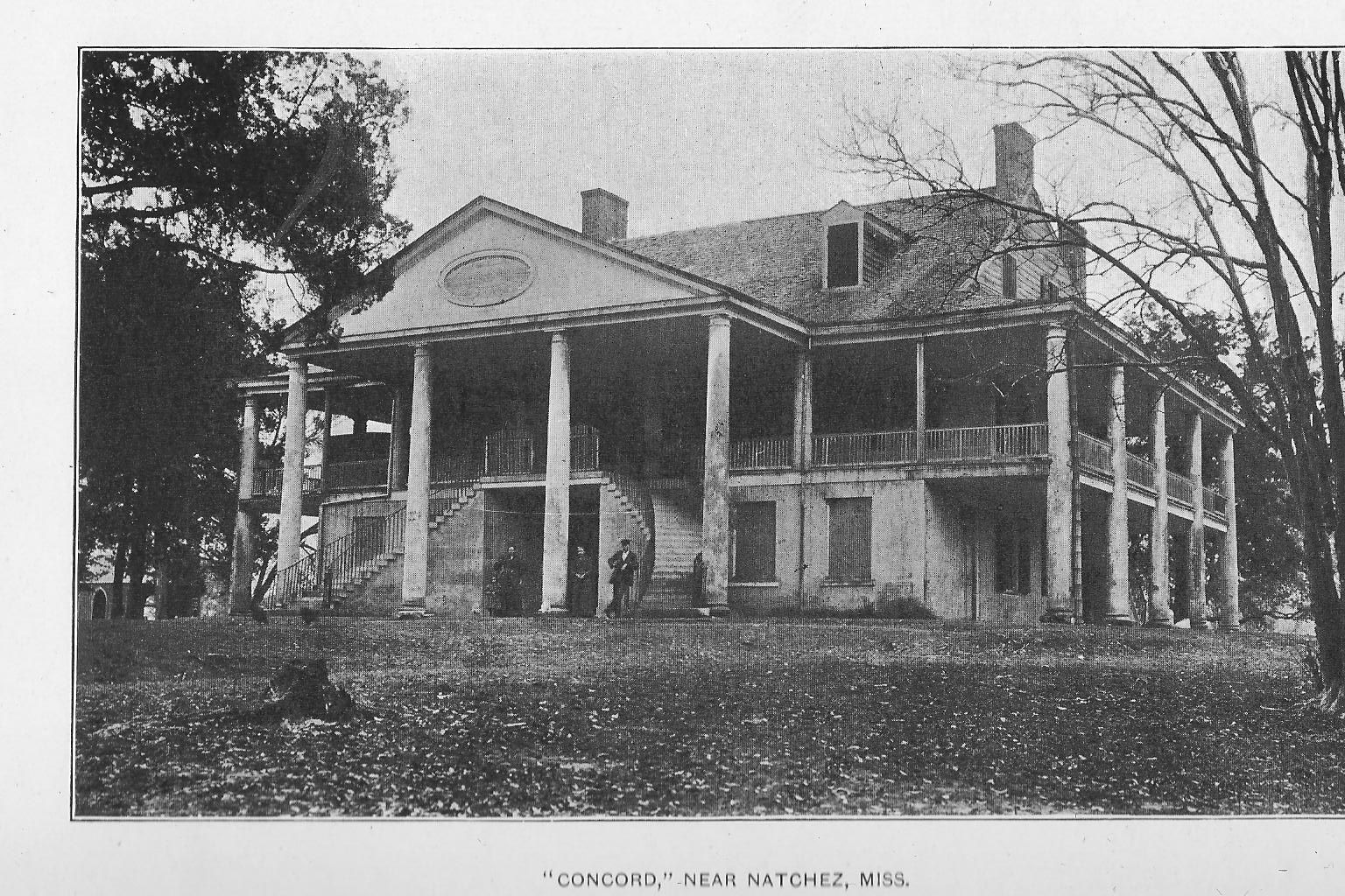 Concord 1787 -- near Natchez, Mississippi Spanish colonial ... on governors house, indians house, mills house, plantation style house, colonists house, plantation masters house, country plantation house, plants house, french plantation house, planters house,