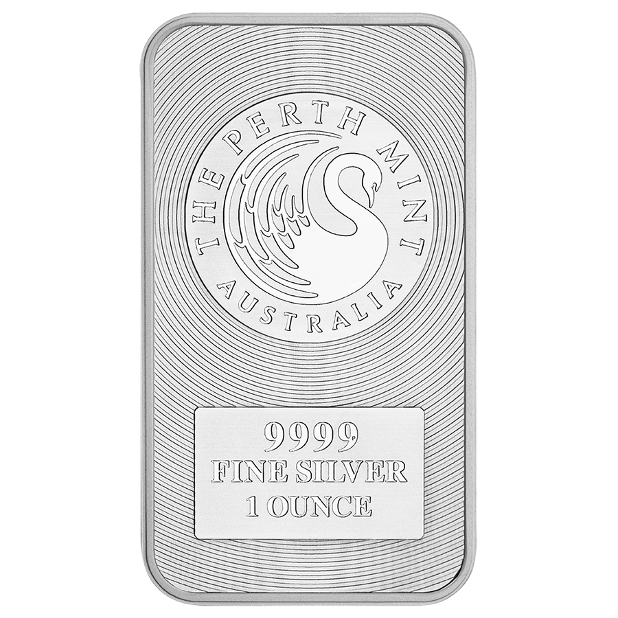 Perth Mint Kangaroo 1oz Silver Bar Silver Bars Silver Investing Silver Bullion