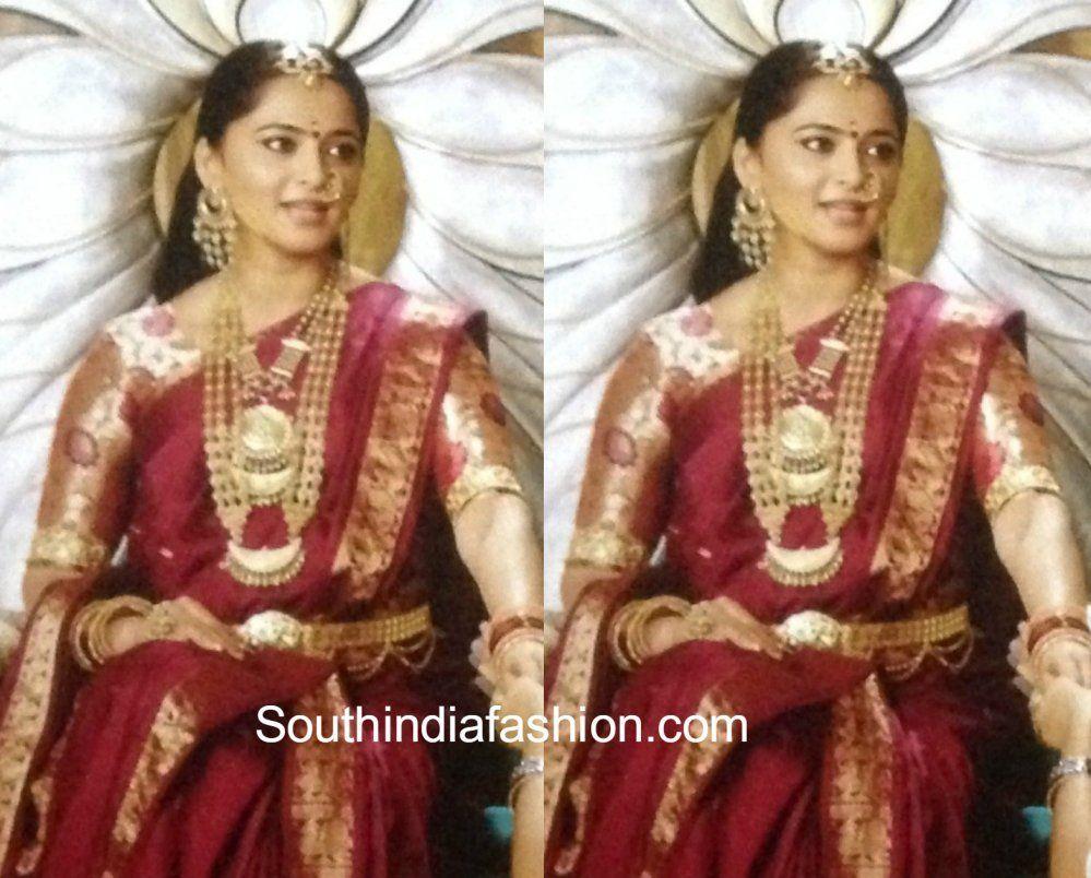 Anushka Shetty As Princess Devasena In Baahubali 2 The Conclusion Anushka Shetty Saree Saree Beautiful Saree