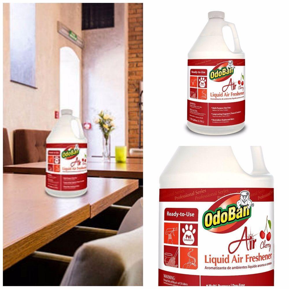 Bathroom Air Freshener Liquid Cherry Odor Neutralizer