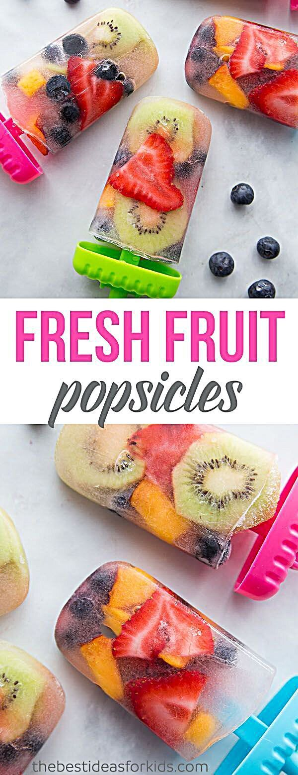 Homemade Fresh Fruit Popsicles #homemadepopsicleshealthy An easy homemade fresh fruit popsicle recipe. Homemade Fresh Fruit Popsicles - Fruit Popsicle Recipes - this is a huge hit for Summer! These fruit popsicles are so easy to make and kids love them! #summer #popsicles #fruit #summerrecipe #kidsrecipe #kids #vegan #foodinspiration #foodforlife #fooddelivery #foodblogging #foodallergies #foodielife #foodtalkindia #foodbloggeritaliani #foodguide #FoodAndTravel #christmas #foodsharing #foodies