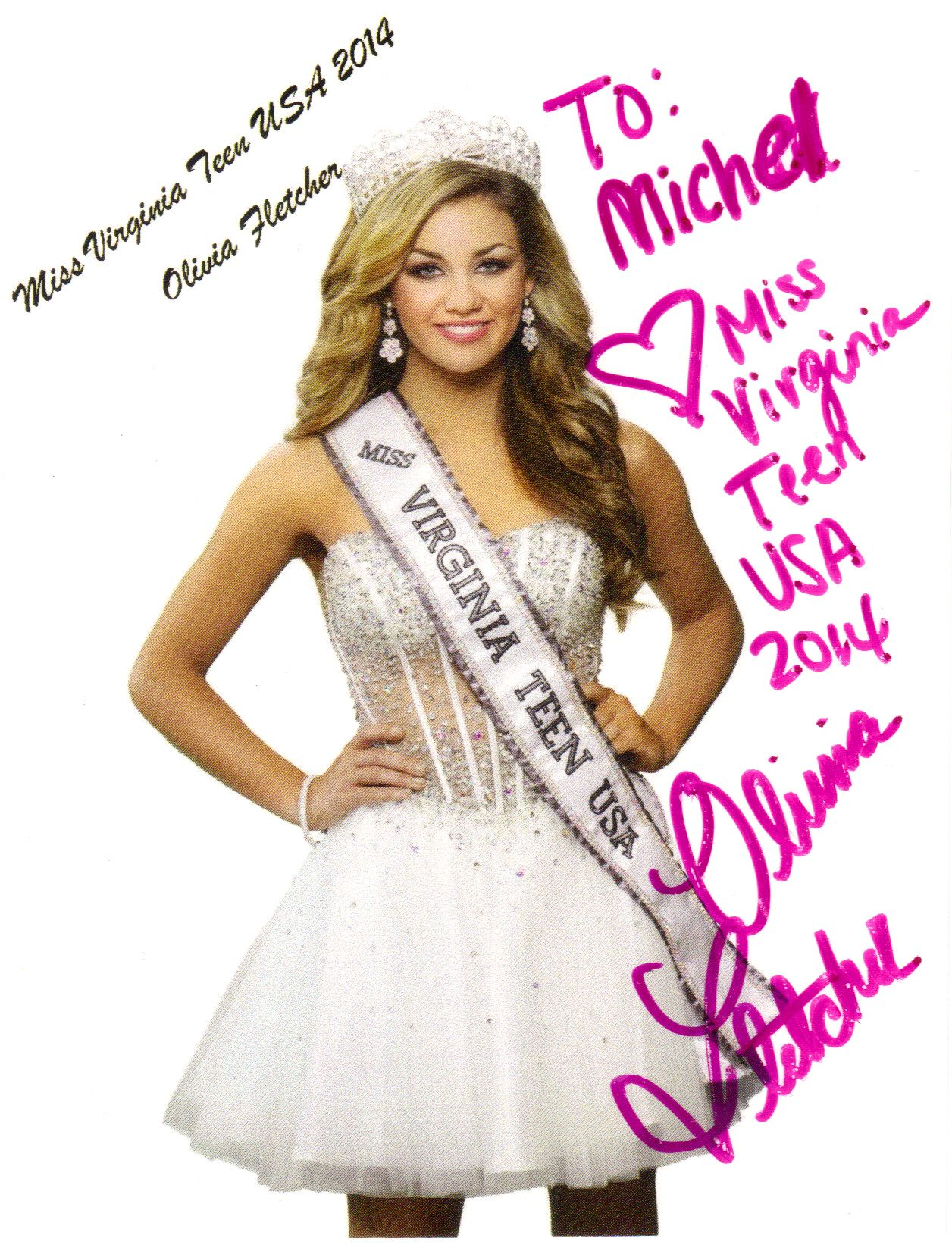 Charisse Haislop - Miss West Virginia USA 2014 - Pageant