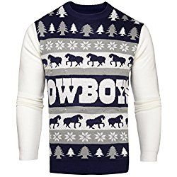 uk availability 5cd2a 7a0fc NFL Dallas Cowboys One Too Many Light Up Sweater, Medium ...