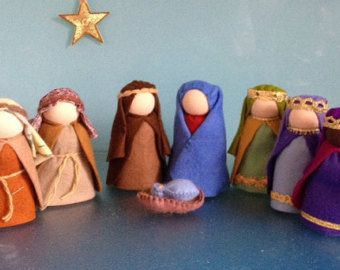 Diy kit nativity scenemake it yourself waldorf nativity setmary diy kit nativity scenemake it yourself waldorf by heartfeltdolls solutioingenieria Image collections
