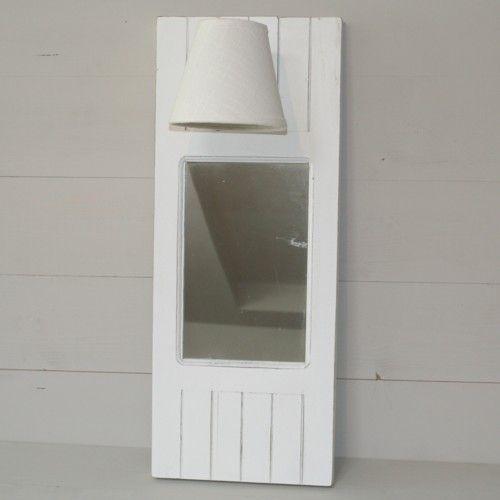 inspiration cosy l 39 applique murale miroir blanche d co de charme sphere inter inspiration. Black Bedroom Furniture Sets. Home Design Ideas