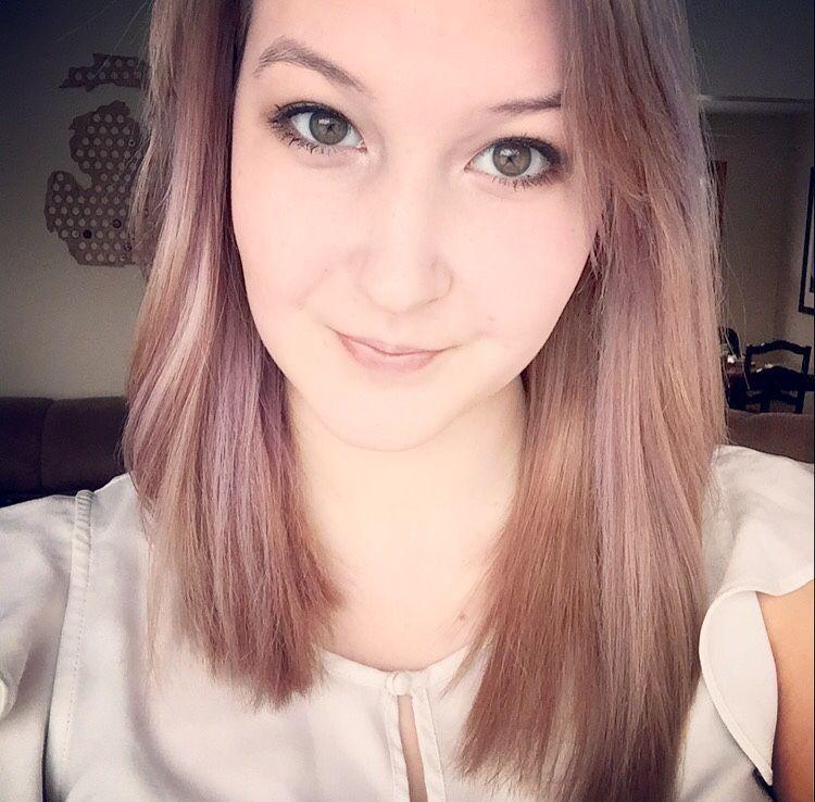 So I dyed my hair…
