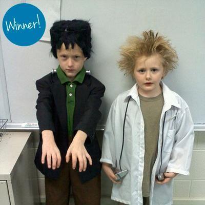 Milk Jug Craft Challenge Reader Submissions Frankenstein Costume Kids Frankenstein Costume Diy Frankenstein Halloween