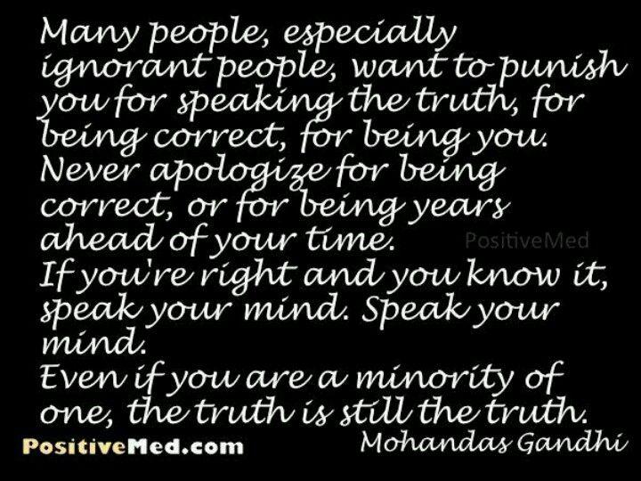 Gandhi   Truth, Words of wisdom, My philosophy