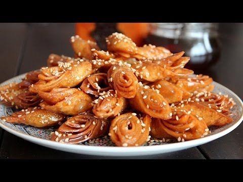 petits gâteaux au miel pour le ramadan - blog cuisine marocaine