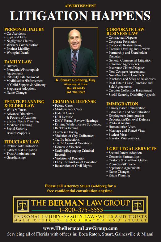 Hire Attorney In Coral Springs For Estate Planning With The Berman