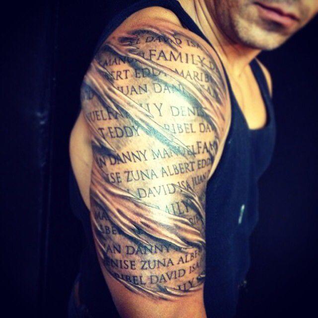 Ripped Skin Tattoo Words On The Skin Ripped Skin Tattoo