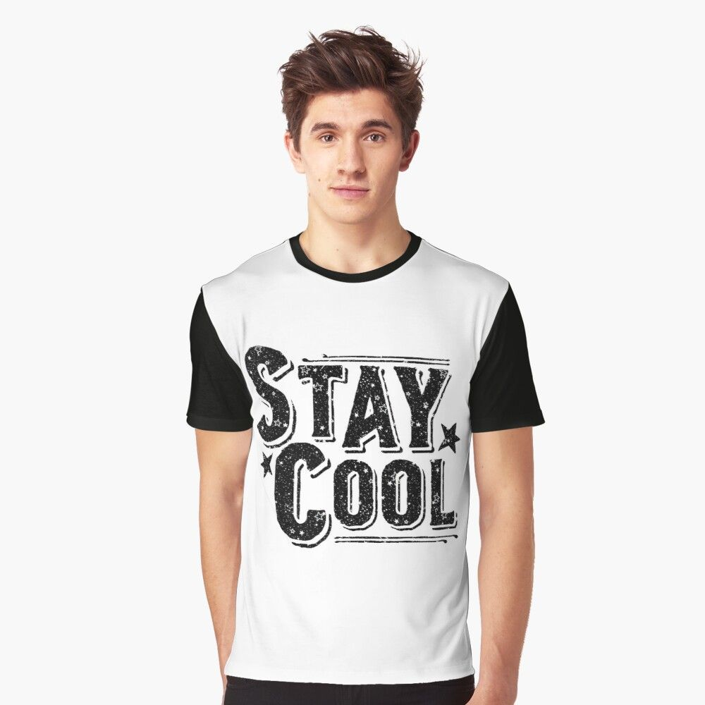Stay Cool Graphic T-Shirt by B.T ART