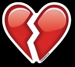 Broken Heart Emoji Stickers Imagenes De Emojis Emoji Corazon Roto Corazon Roto Dibujos