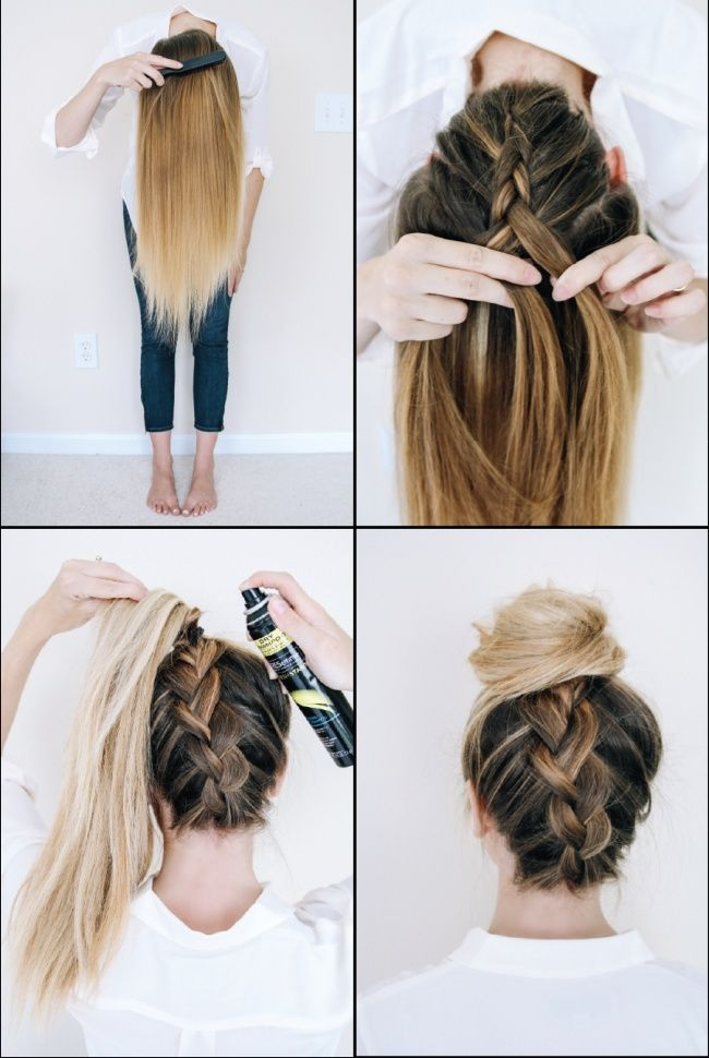 Ten Superb Ways To Style Your Hair When Youre Running Late