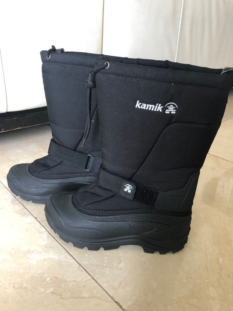 Kamik Mens Snow Boots Waterproof Size 8 - slightly used  fashion  clothing   shoes  accessories  mensshoes  boots (ebay link) 83fdca8fb4b0