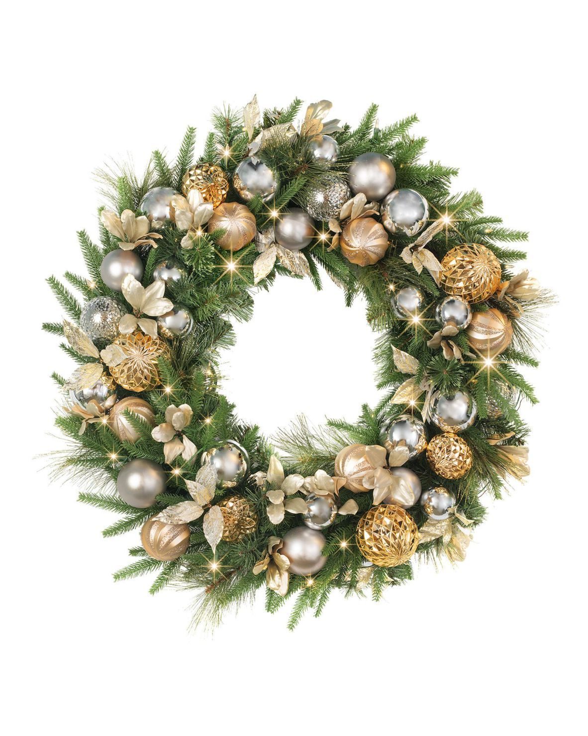 Gold Christmas Wreath.Pin On Holiday
