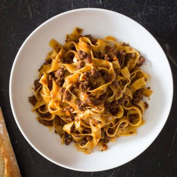 Weeknight Tagliatelle with Bolognese Sauce | America's Test Kitchen #bolognesesauce