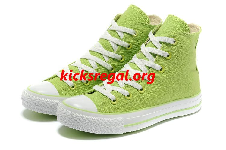 d447cd7f8132ca Discount Kicksregal net Wholesale New Overseas Converse New Color Dazzling  Grass Green Chuck Taylor All Star