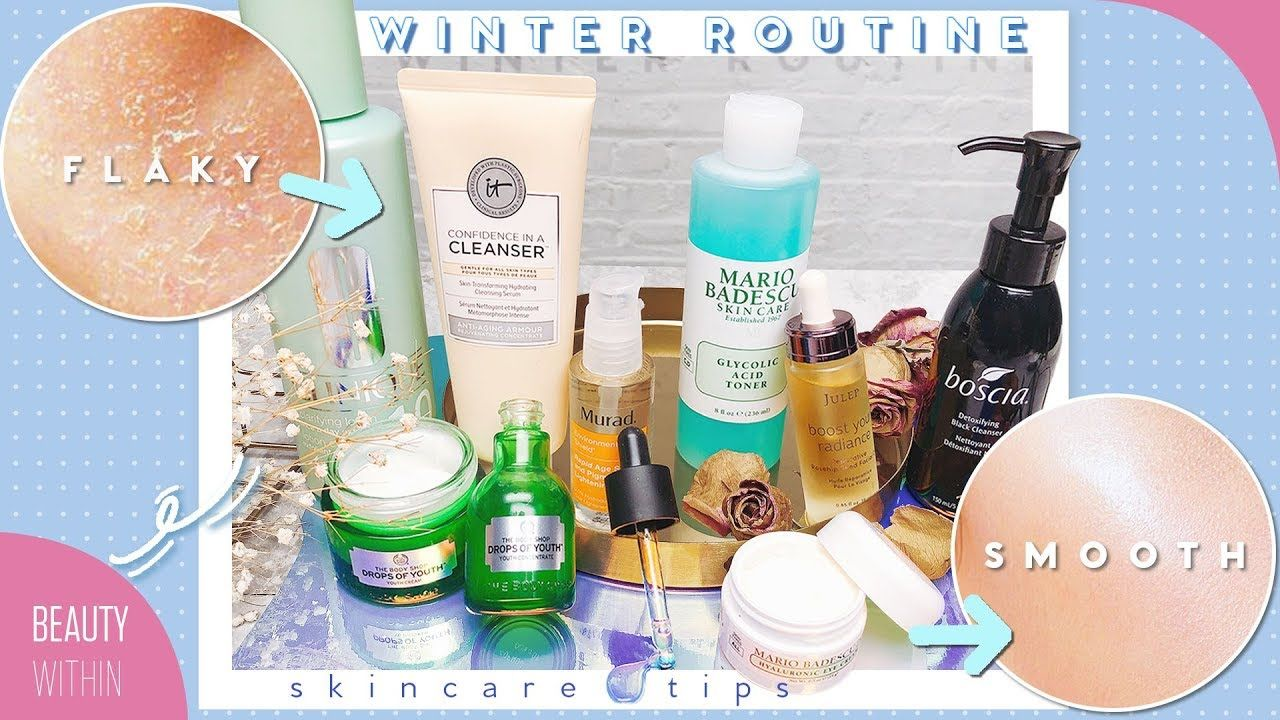 Winter Skin Care Routine For Clear Skin Dry Sensitive Oily Skin Ty Oily Sensitive Skin Winter Skin Care Winter Skin Care Routine