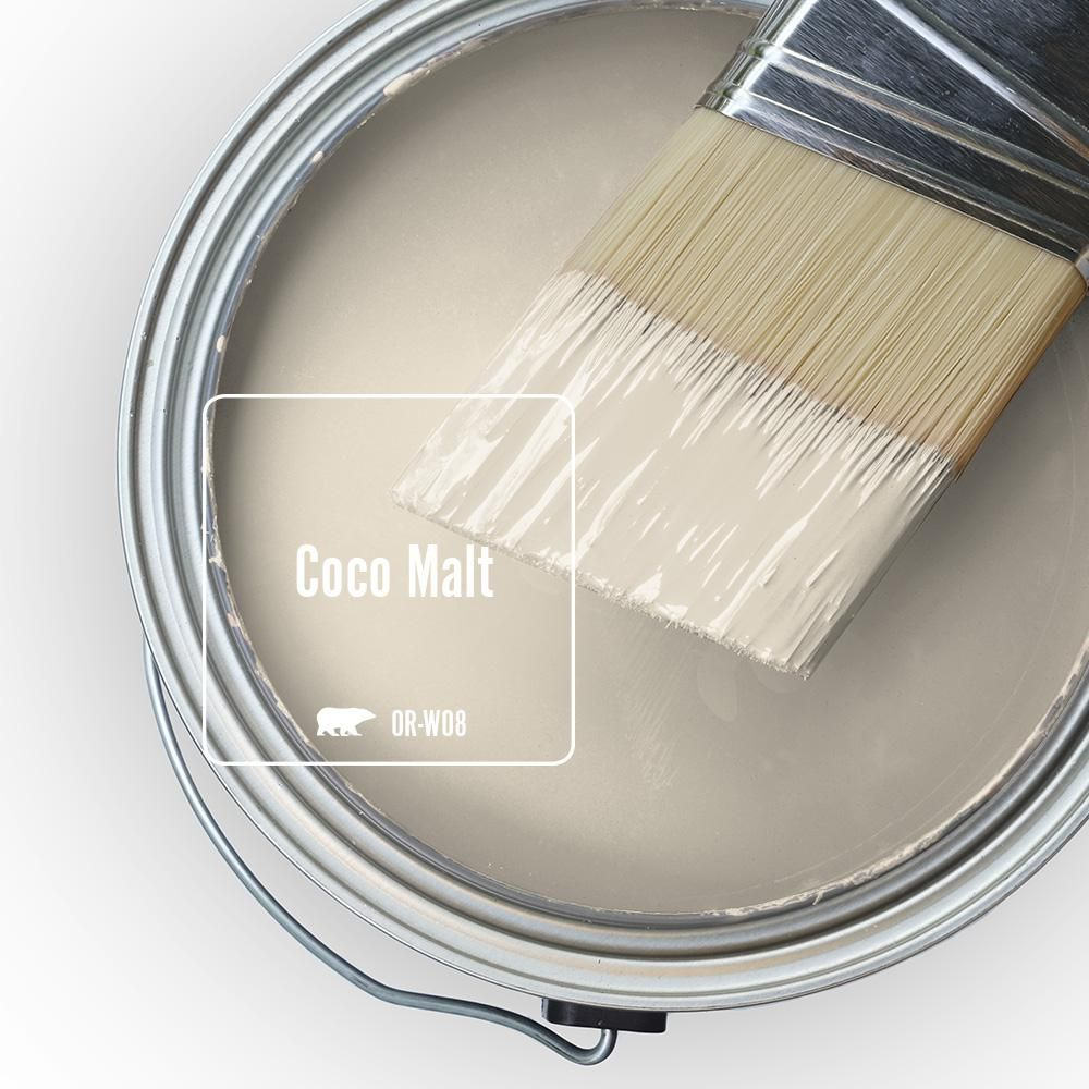 Behr Marquee 1 Qt Or W8 Coco Malt Matte Interior Paint Primer 145004 The Home Depot Paint Colors For Home Interior Paint Behr Marquee Paint