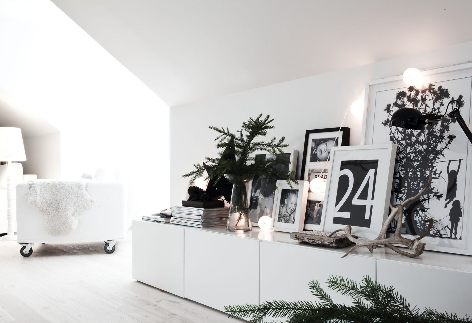looking for Ikea BESTA inspiration - about to go wall to wall with this line... loving this!