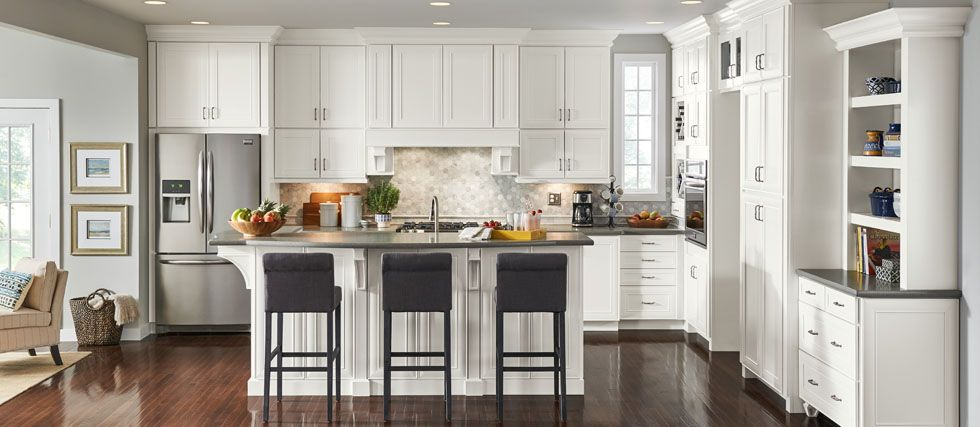 Kitchen Remodel, Shenandoah Kitchen Cabinets Specs