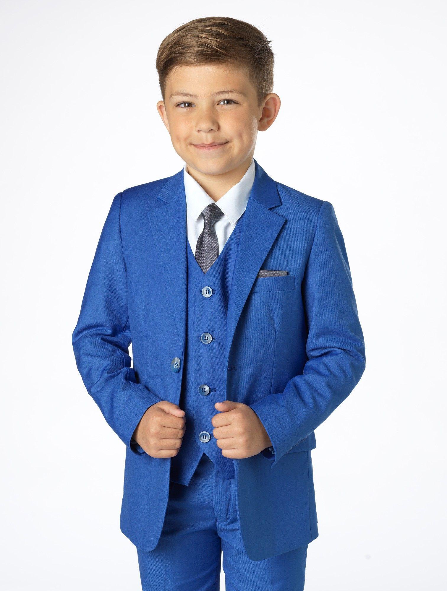 12350e0d846 Boys blue suit - Sampson