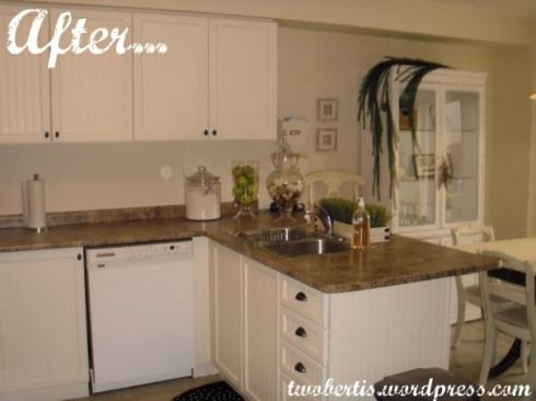 my kitchen makeover @Katie Schmeltzer Berti