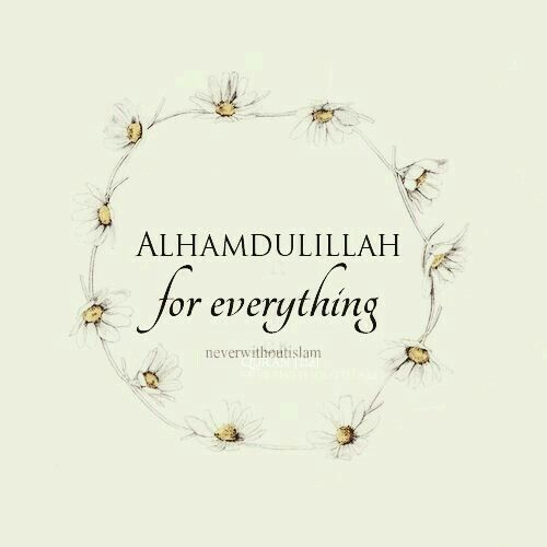 Be thankful for everything always say alhamdulillah about always say alhamdulillah thecheapjerseys Image collections