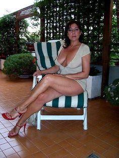 Legs Naked mature women