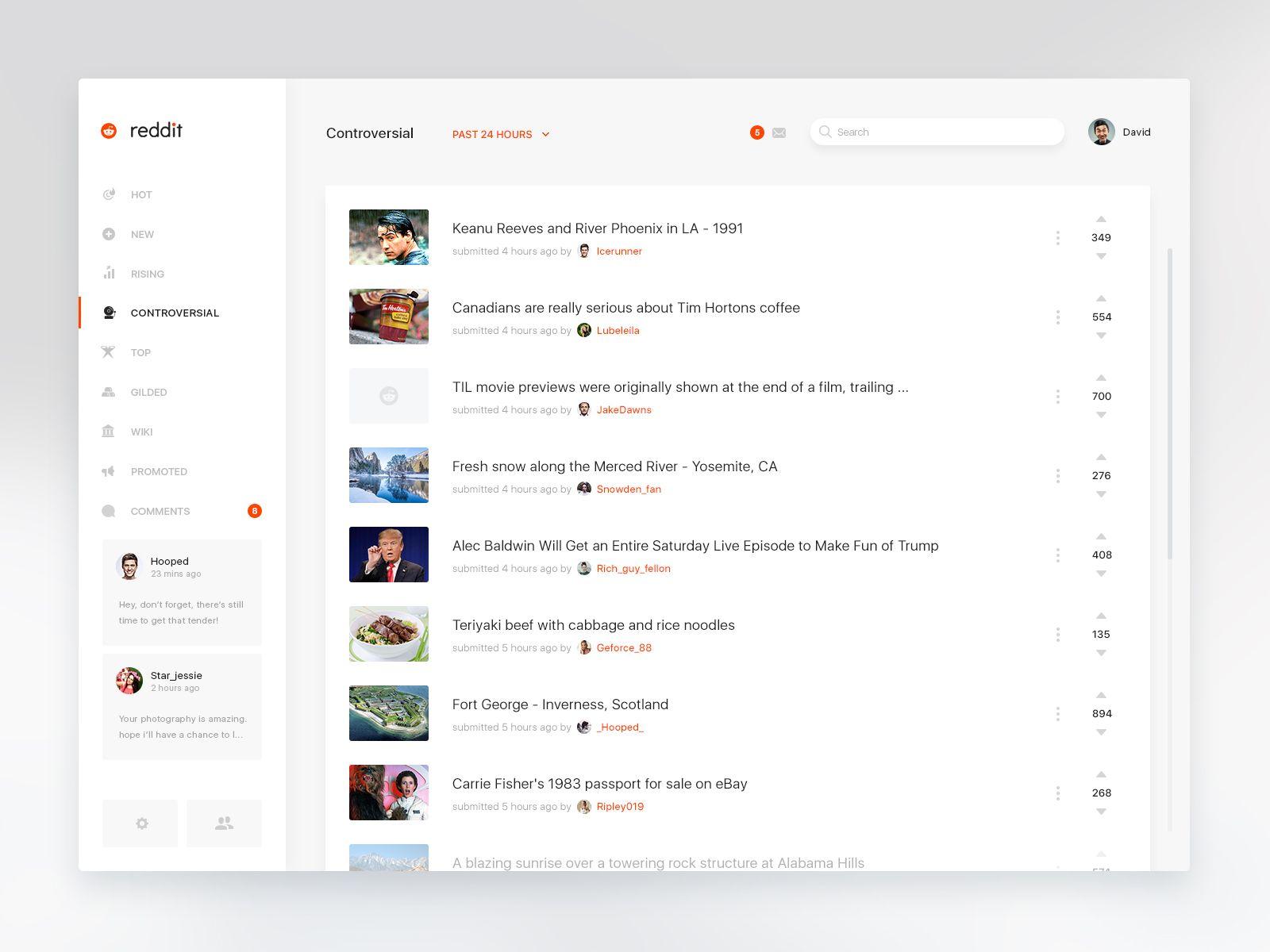 Reddit Big Web Design Web Layout Design Web Design Inspiration