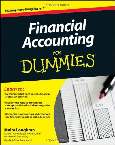 Bestseller Books Online Financial Accounting For Dummies Loughran