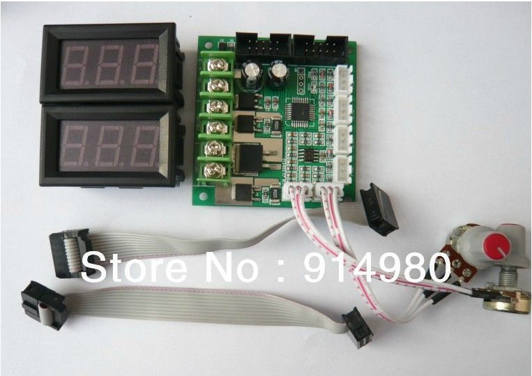 Click to Buy << Dual Brushed DC motor speed controller with