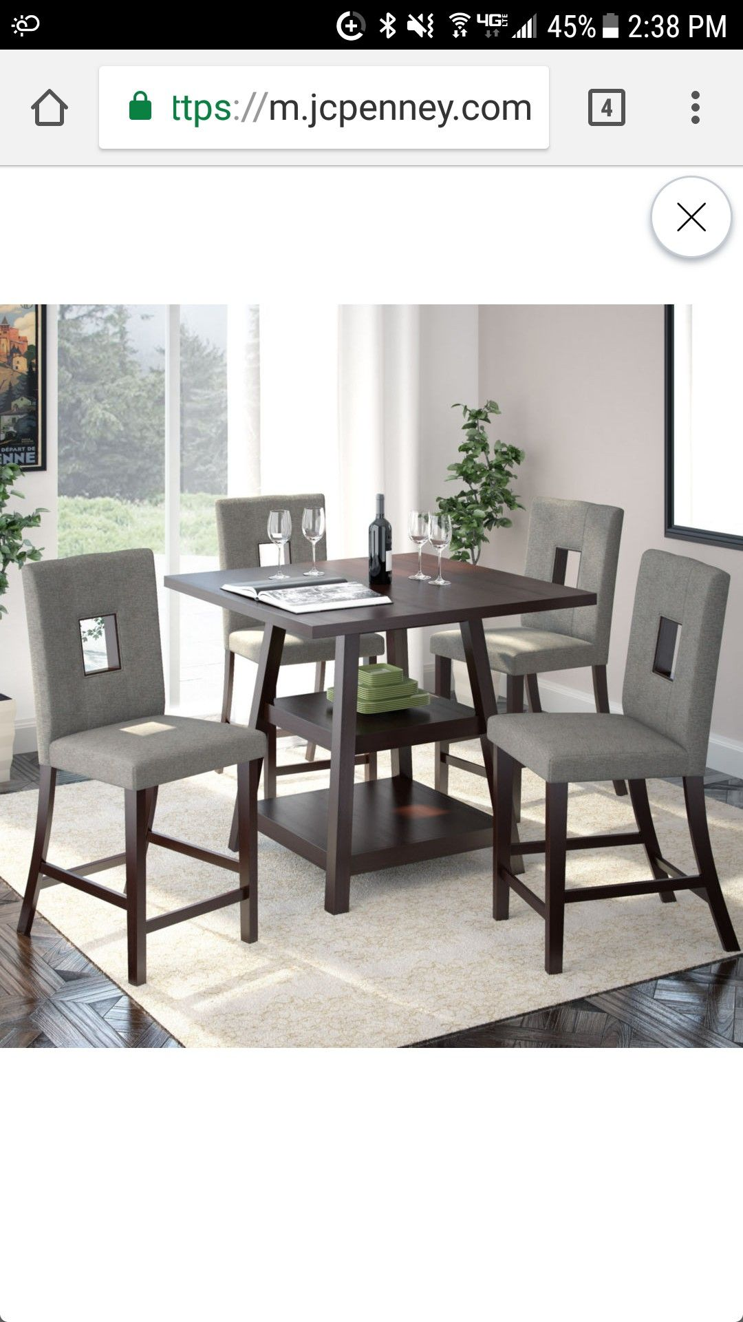 Jcpenney Dining Set Round Dining Room Sets Dining Room Sets Counter Height Dining Sets [ 1920 x 1080 Pixel ]